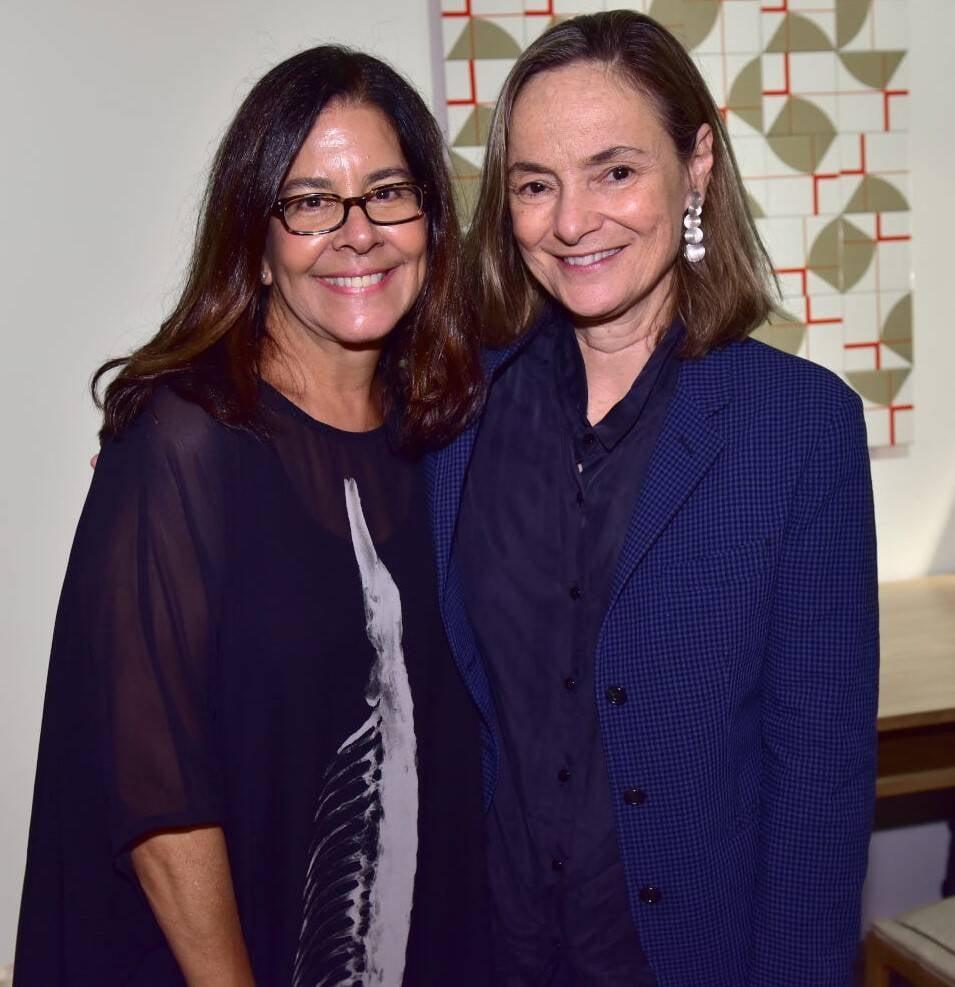 Lia Siqueira e Cláudia Moreira Salles /Foto: Paulo Jabur