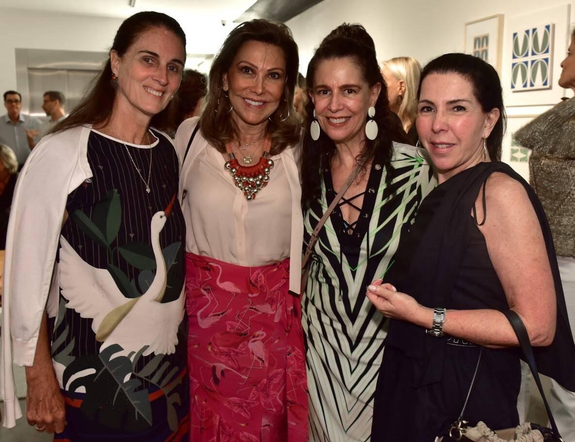 Mili Kessler, Anna Luiza Rothier ,Fátima Brizola e Paola Ribeiro /Foto: Paulo Jabur