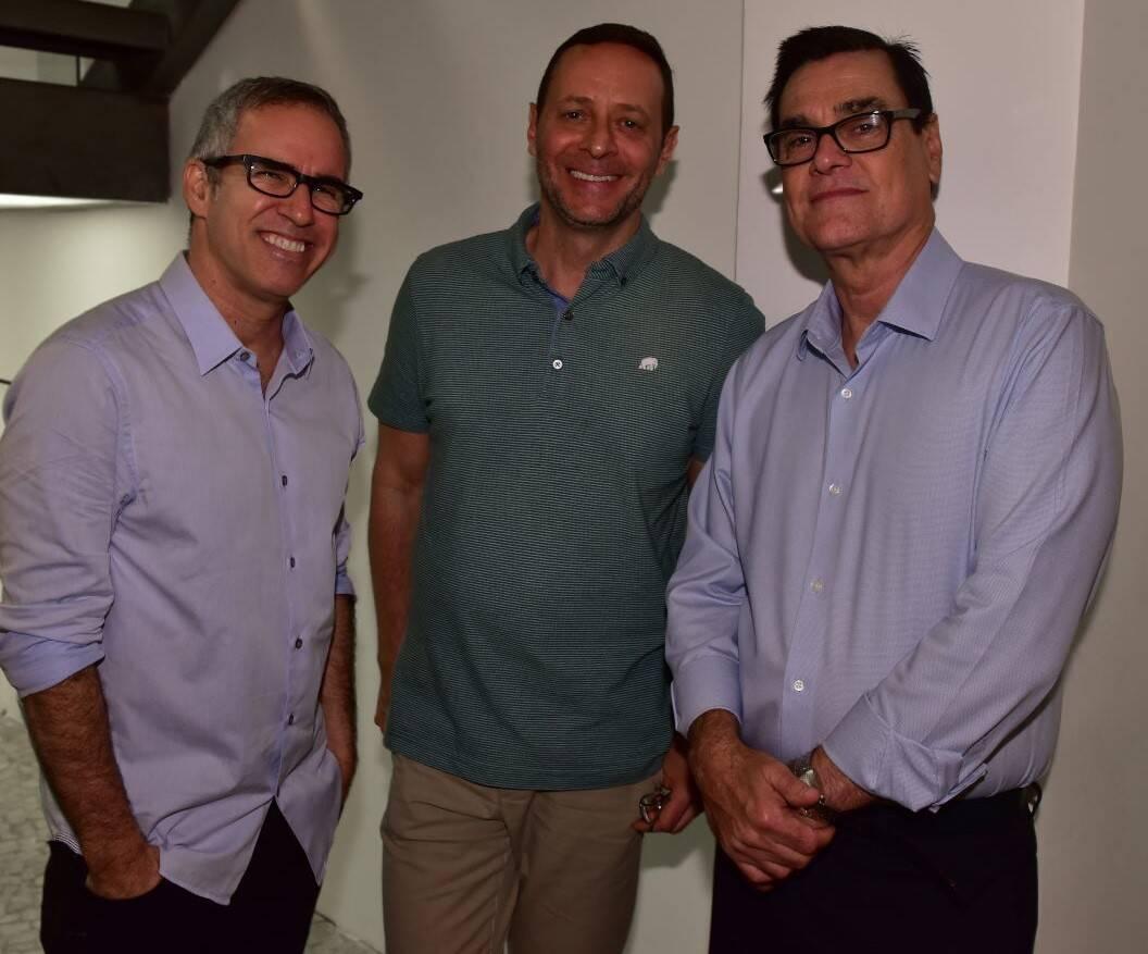 Eduardo Câmara, Marcelo Guidine e Ivo Wanderley /Foto: Paulo Jabur