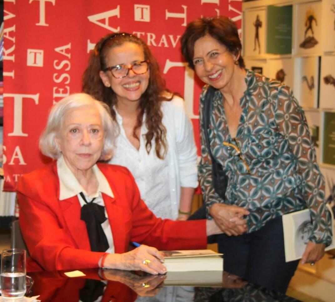 Fernanda Montenegro, Cristina Pereira e Stella Freitas /Foto: Cleomir Tavares