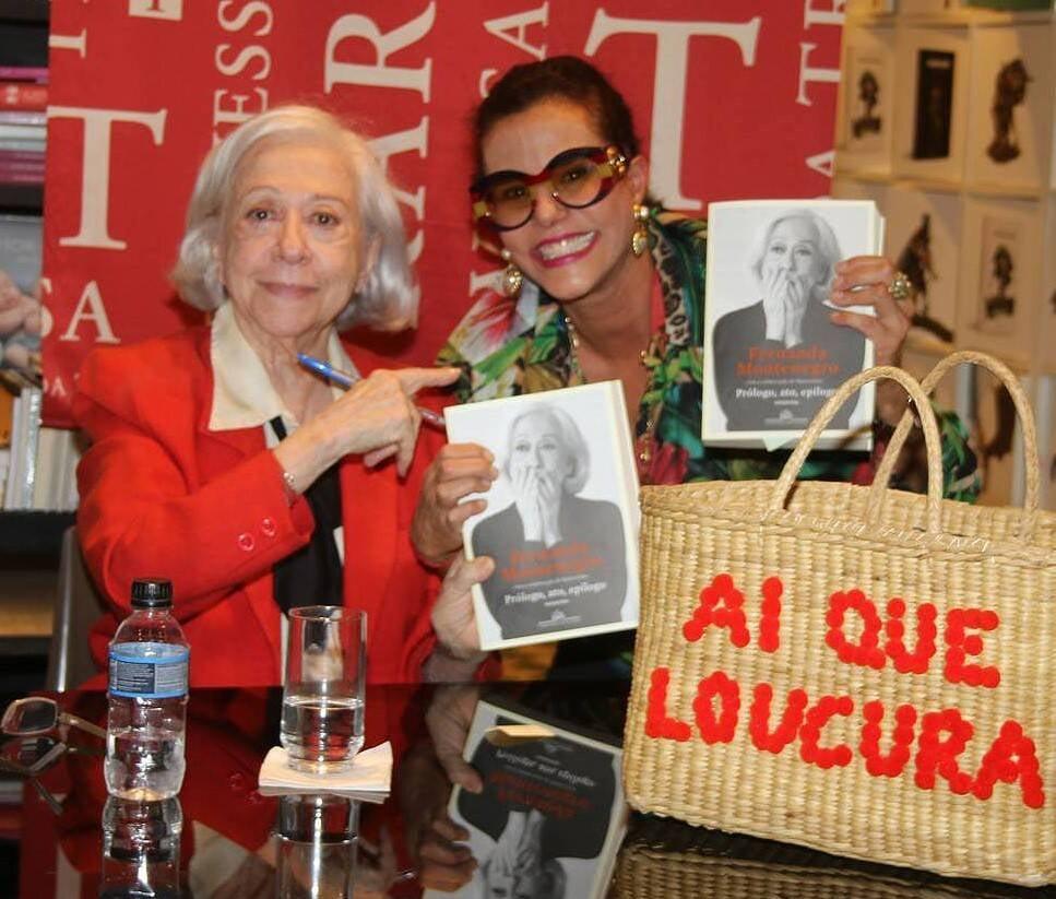 Fernanda Montenegro e Narcisa Tamborindeguy /Foto: Cleomir Tavares