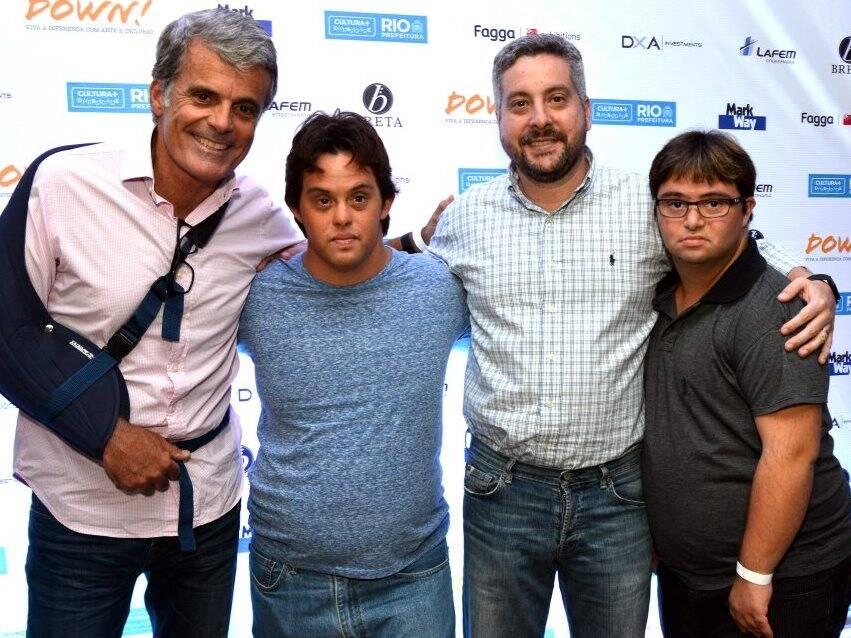 Flávio Ramos, Breno Prisco, Luiz Antônio Benegas e Rafael Dias