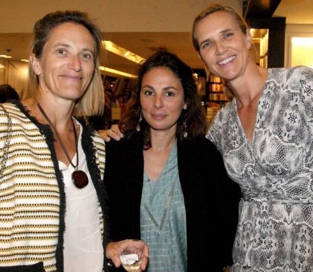Laurence Ceglia, Romaine Jonglez e Anne Catherine Wanbersie