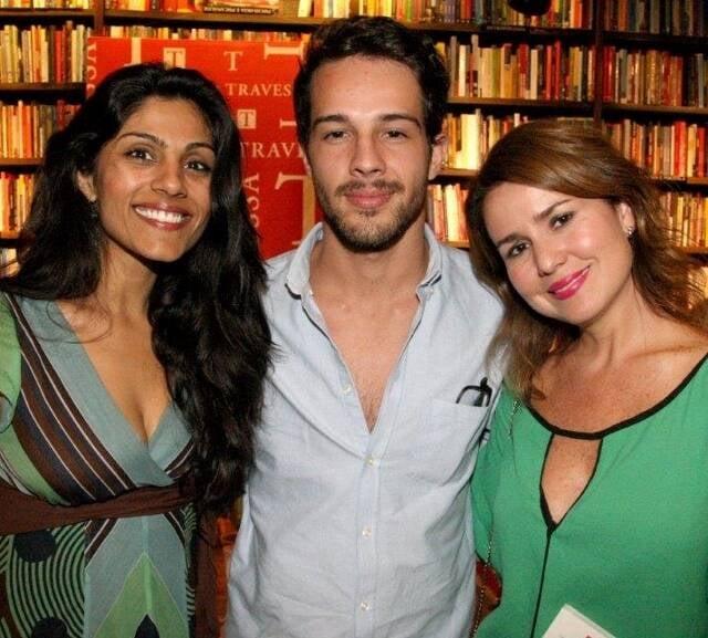 Roshni Thakker, Thales Oliveira e Natalia Arias
