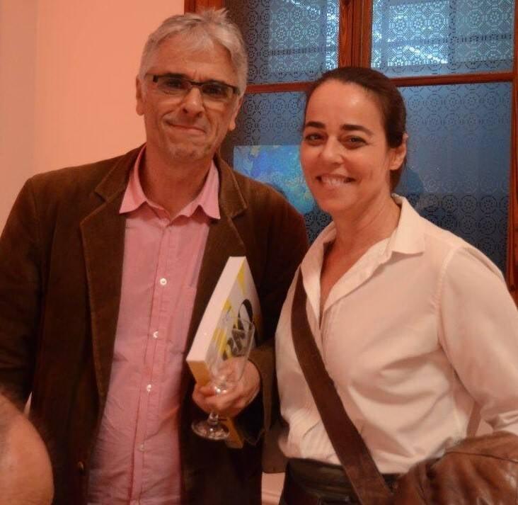 Renato Camargo e Úrsula Tautz /Foto: Marco Rodrigues