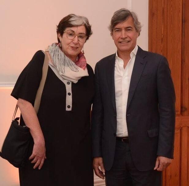 Silvia Finguerut e Sidney Gonzales /Foto: Marco Rodrigues