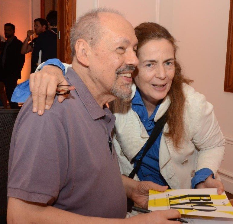 Paulo Herkenhoff e Enrica Bernadelli /Foto: Marco Rodrigues