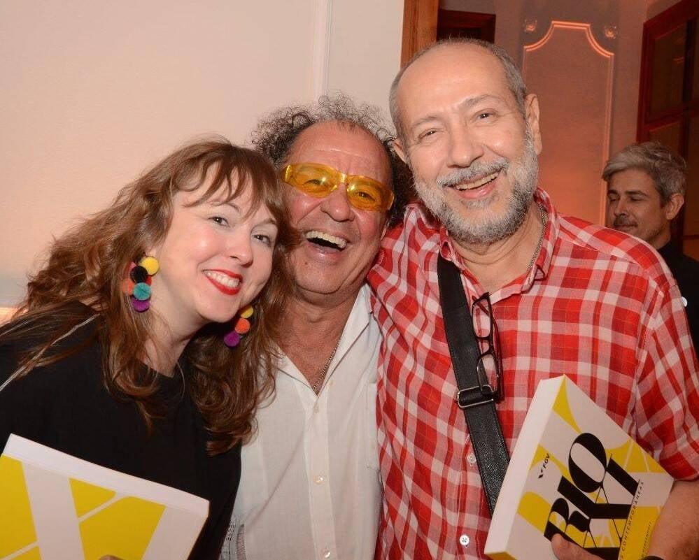 Cristiana Tejo, Ronald Duarte e Fernando Cocchiaralle /Foto: Marco Rodrigues