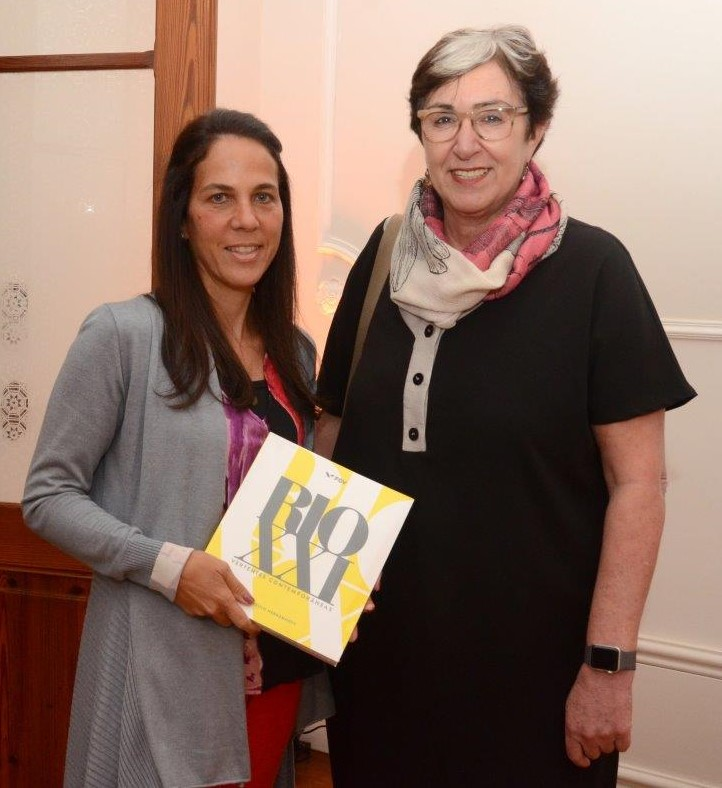 Martha Fadel e Silvia Finguerut /Foto: Marco Rodrigues