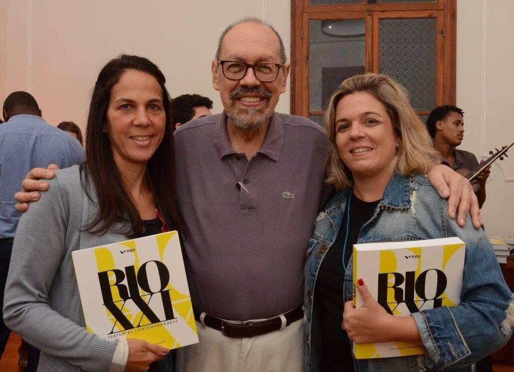 Martha Fadel, Paulo Herkenhoff e Luciana Caravello /Foto: Marco Rodrigues