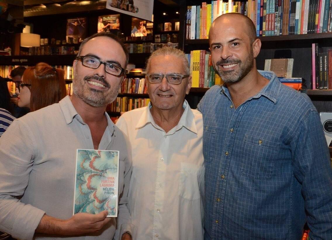 Christovam de Chevalier, Jorge Salomão e Ricardo Portilho / Foto: Marco Rodrigues