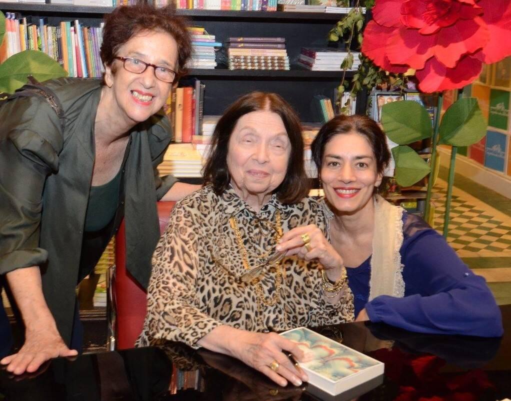Eunice Gutman, Nélida Piñon e Susana Fuentes/ Foto: Marco Rodrigues