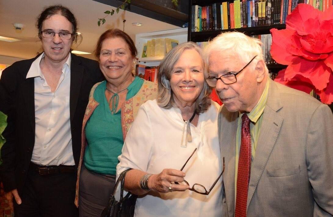 Geraldo Carneiro, Ana Maria Machado, Rosiska Darcy de Oliveira e Sérgio Rouanet / Foto: Marco Rodrigues