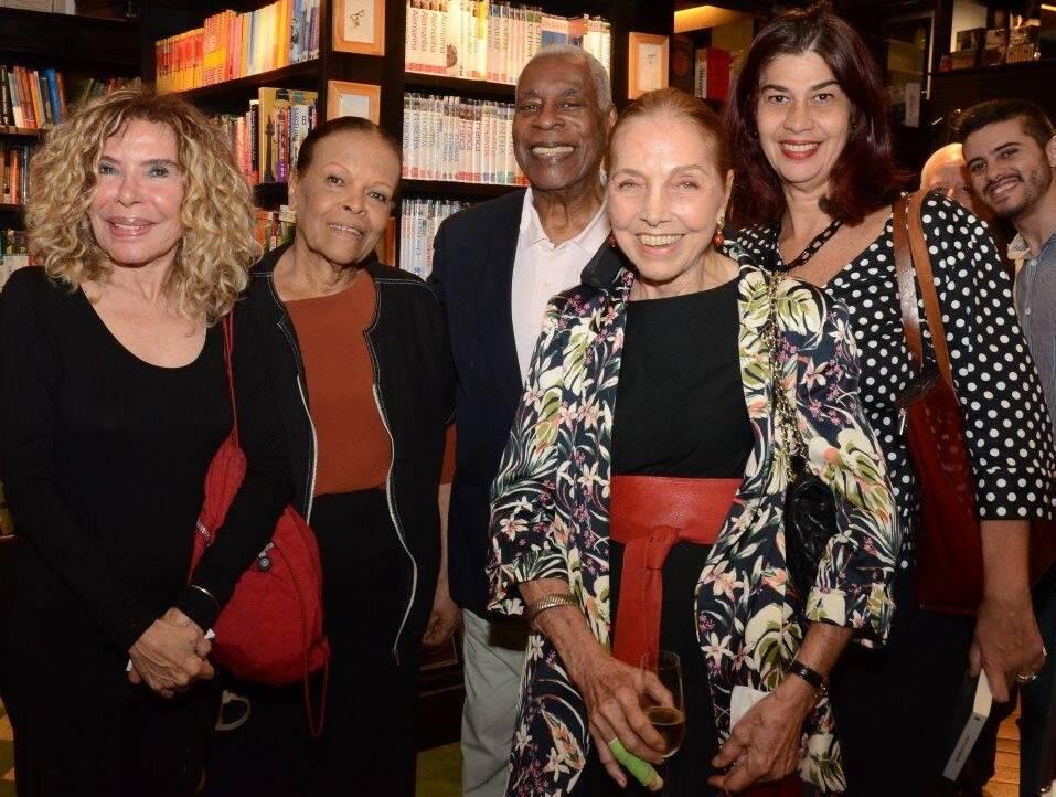 Gilsse Campos, Mary e Haroldo Costa, Marina Colasanti e Rogéria Gomes / Foto: Marco Rodrigues
