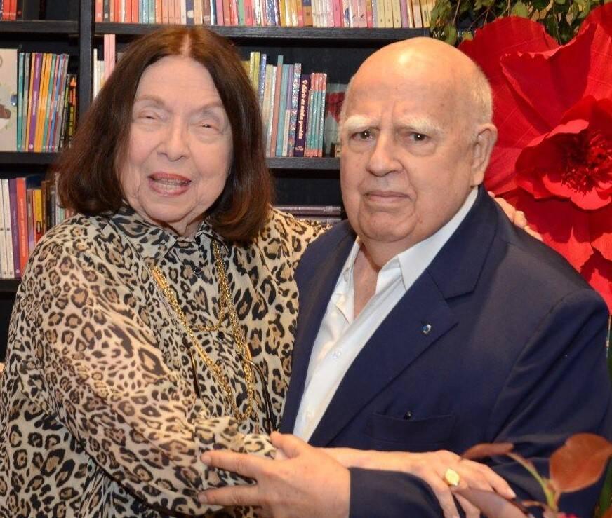 Nélida Piñon e Marcos Azambuja / Foto: Marco Rodrigues