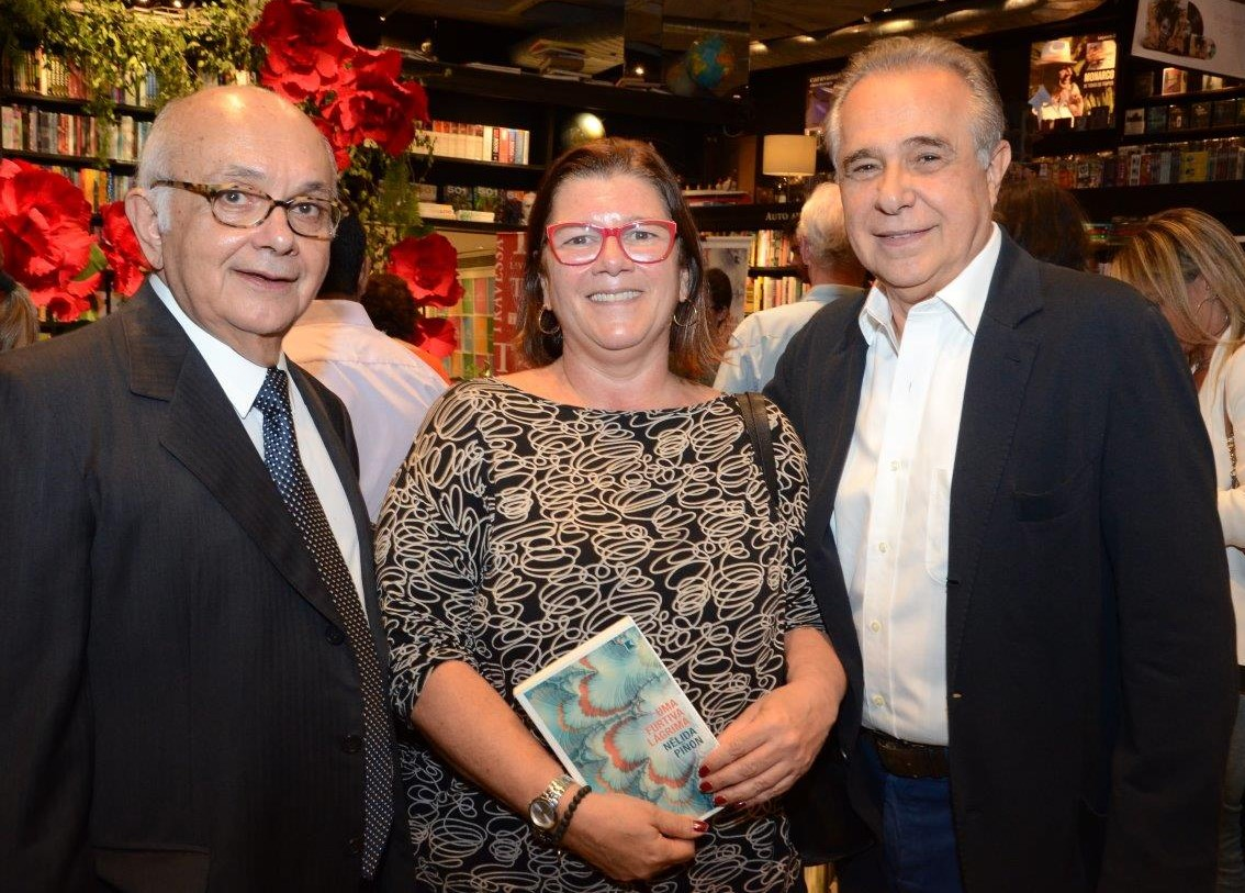 Sérgio Bermudes, Andrea Pacha e Roberto D'Ávila / Foto: Marco Rodrigues