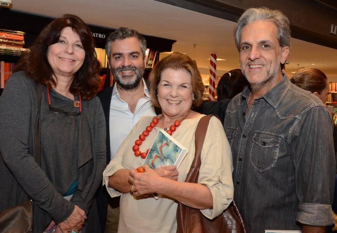 Sônia Machado, Carlos Andreazza, Anna Maria Ramalho e Bernardinho Campos / Foto: Marco Rodrigues