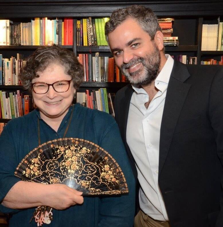 Cora Rónai e Carlos Andreazza / Foto: Marco Rodrigues