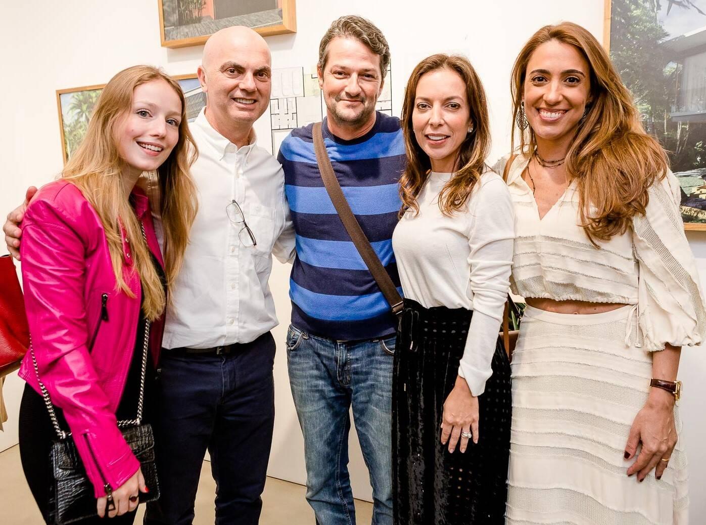 Malu Rodrigues, Sergio Sterenberg, Marcelo Serrado, Karina Sterenberg e Paula Marinho /Foto: Bruno Ryfer