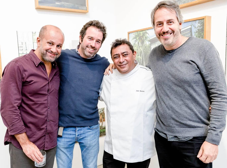 Guilherme Schiller, Fernando Kaplan, João Batista e Sergio Conde Caldas  /Foto: Bruno Ryfer
