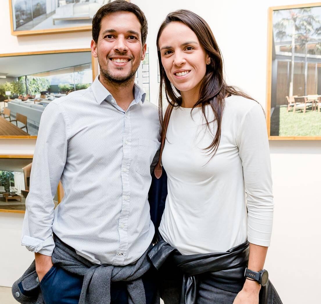 Gustavo de Andrade e Carolina Gouvea  /Foto: Bruno Ryfer
