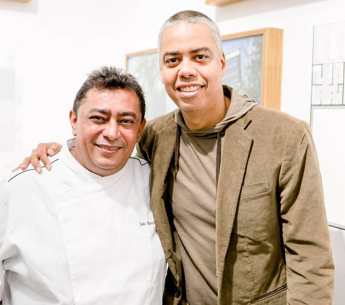 João Batista e Max Vianna  /Foto: Bruno Ryfer