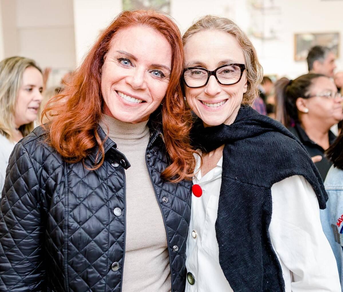Leilane Neubarth e Betty Goffman  /Foto: Bruno Ryfer