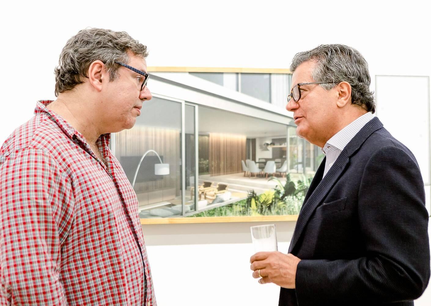 João Emanuel Carneiro e Ronaldo Cesar Coelho  /Foto: Bruno Ryfer
