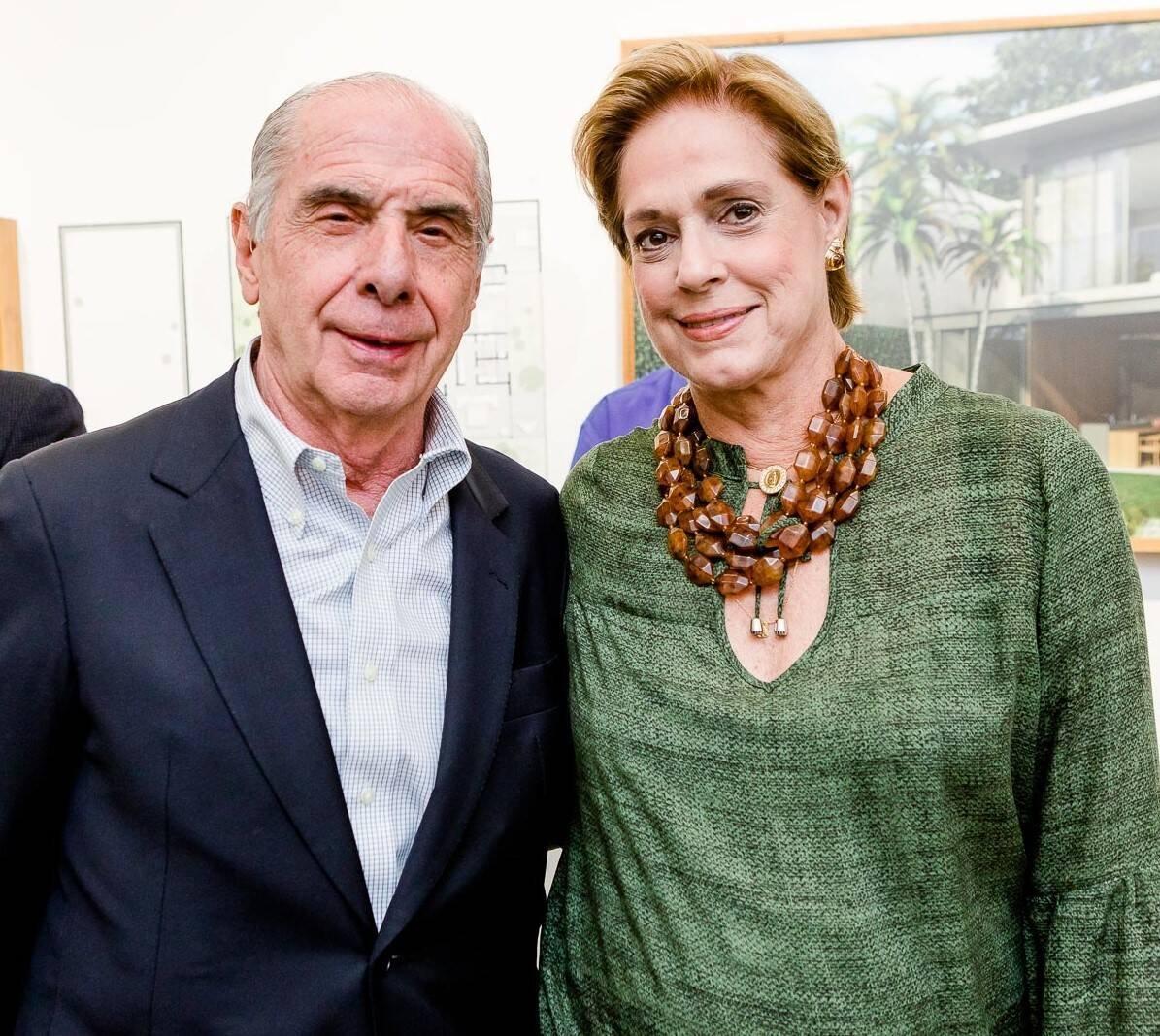Luis Fernando Santos Reis e Silvia Fraga  /Foto: Bruno Ryfer