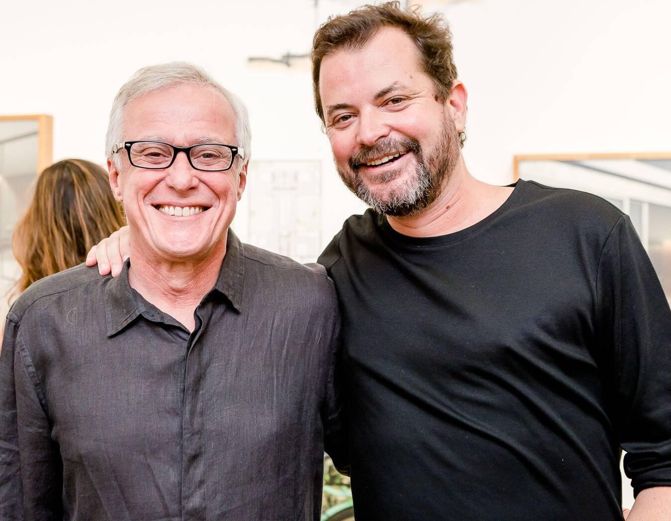 Antonio Paulo Cordeiro e Miguel Pinto Guimarães  /Foto: Bruno Ryfer