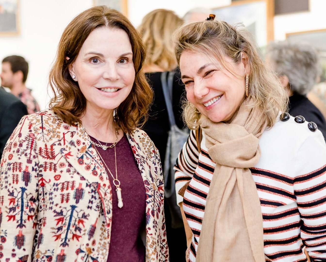 Patricia Mayer e Marcia Müller  /Foto: Bruno Ryfer