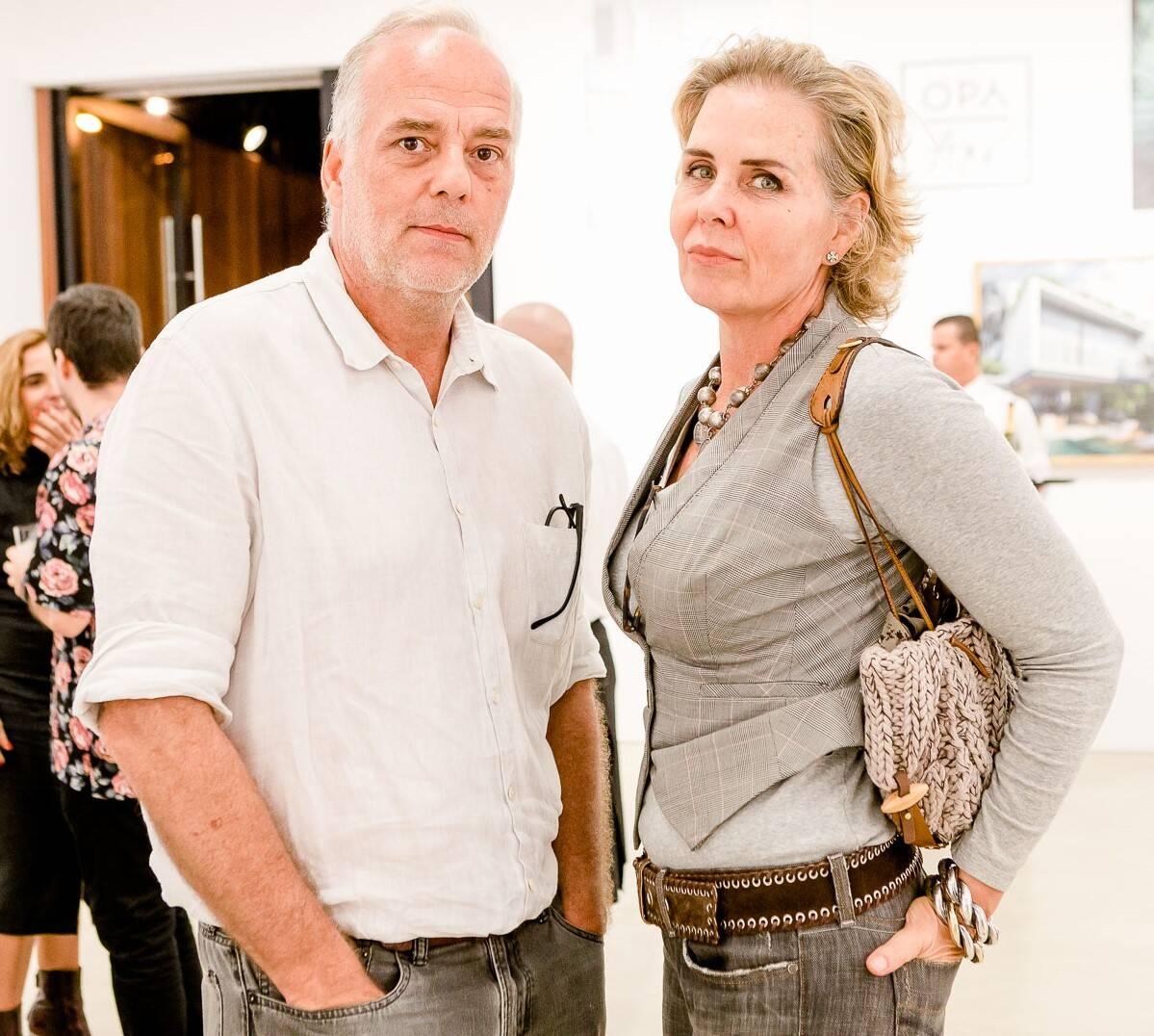 Ricardo e Andrea Fasanello  /Foto: Bruno Ryfer