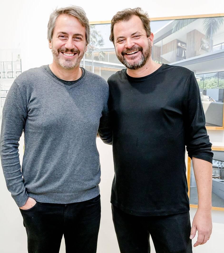 Sergio Conde Caldas e Miguel Pinto Guimarães  /Foto: Bruno Ryfer