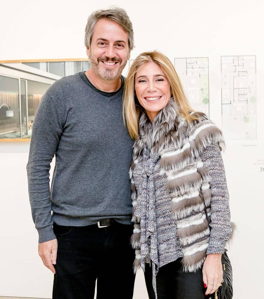 Sergio Conde Caldas e Patricia Conde Caldas /Foto: Bruno Ryfer