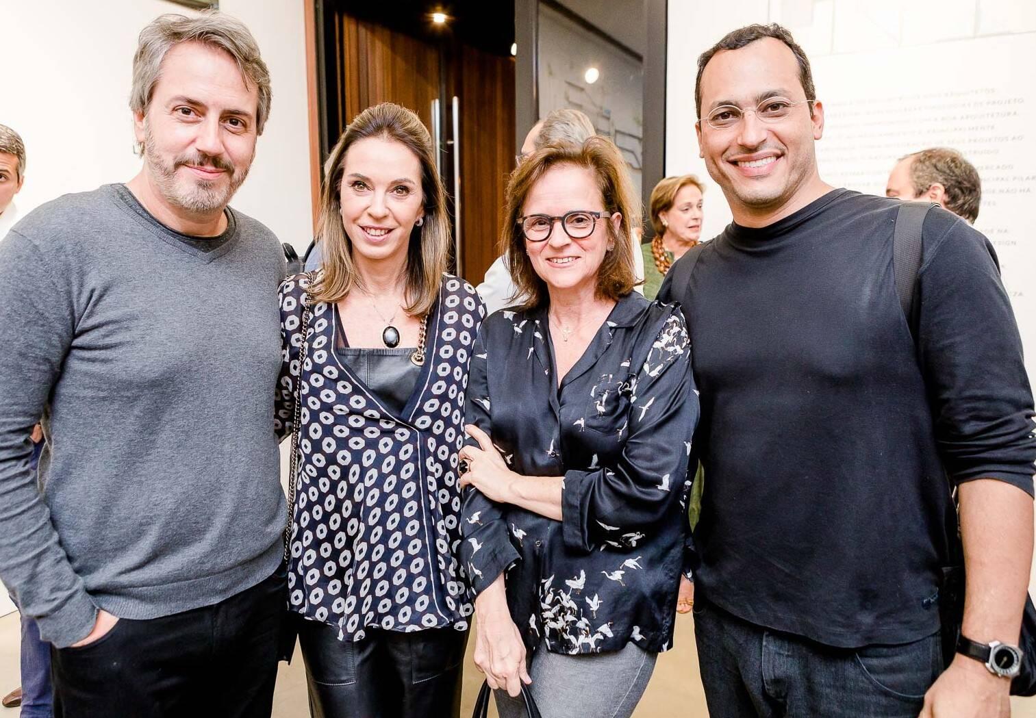 Sergio Conde Caldas, Esther Schattan, Patricia Quentel e Guto Indio da Costa  /Foto: Bruno Ryfer