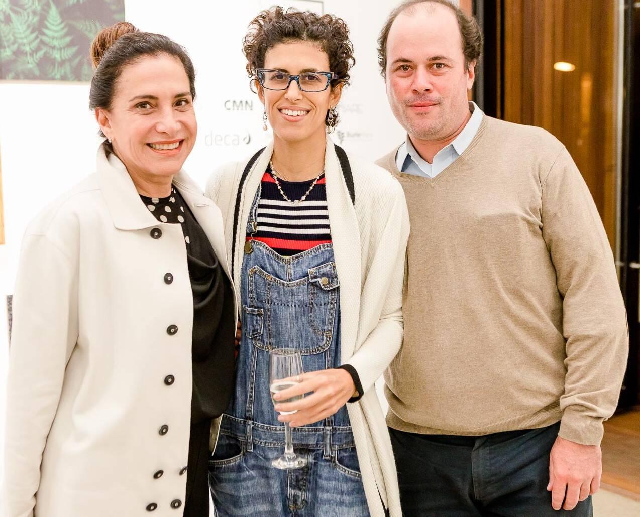 Totia Meirelles, Olivia Rabacov e Filipe Camargo  /Foto: Bruno Ryfer