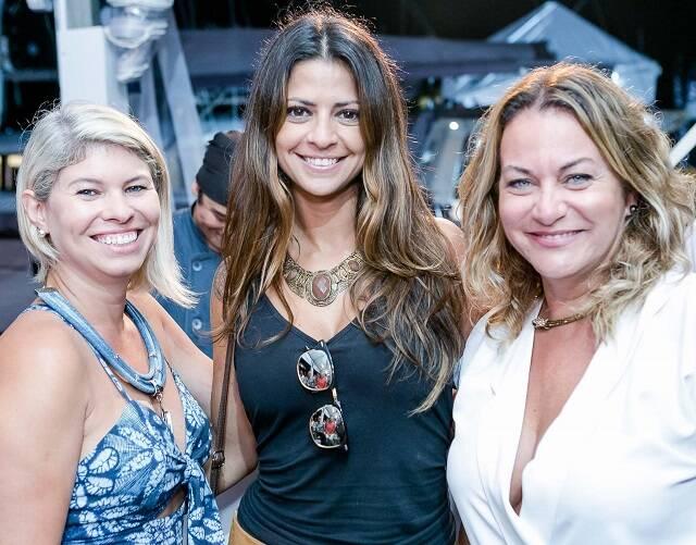 Alessandra Moderno, Thais Macario e Claudia Modelo
