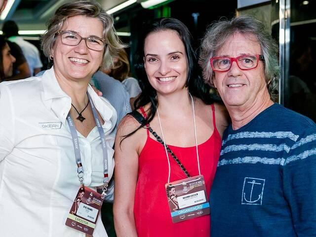Katia Fernandes, Giovanna Gastaldi e Malagueta