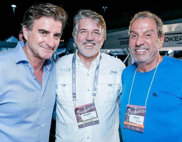 Marcelo Galvão, Nercio Fernandes e Bueno Alfredo Califfa