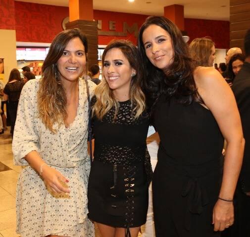 Carol Sampaio, Tatá Werneck e Bianca Villar