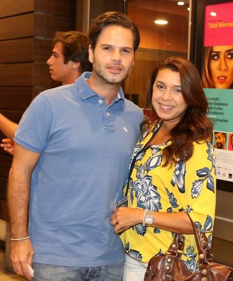 Manoel Calmon e Simone Marques