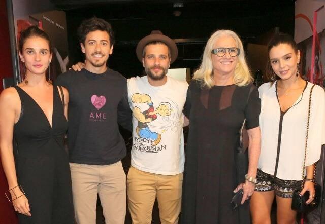 Priscila Steinman, Jesuíta Barbosa, Bruno Gagliasso, Vera Holtz e Giovanna Lancelotti