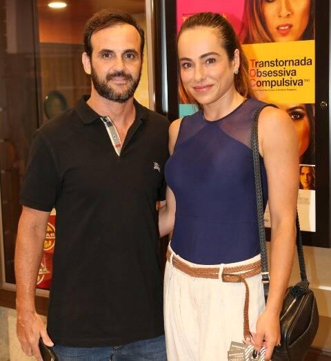Renato Bussiere e Cassia Linhares