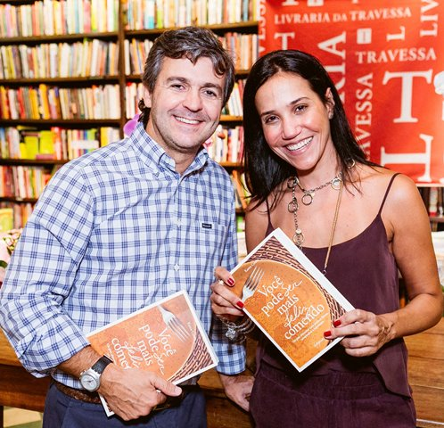 André Simões e Maria Kafuri