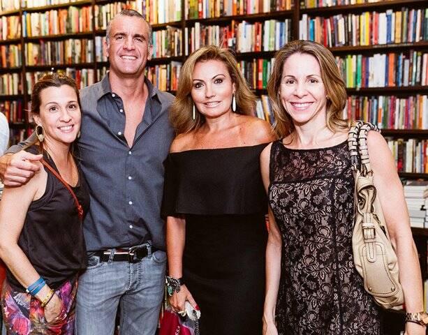 Claudia Darcy, Marcelo Leitão, Glória Gomes e Ana Paula Bento