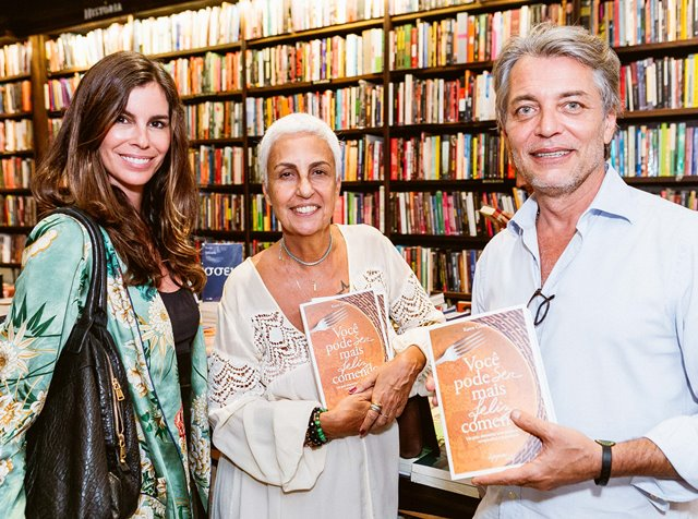 Chris Pitanguy, Lalá Guimarães e Lulu Lima
