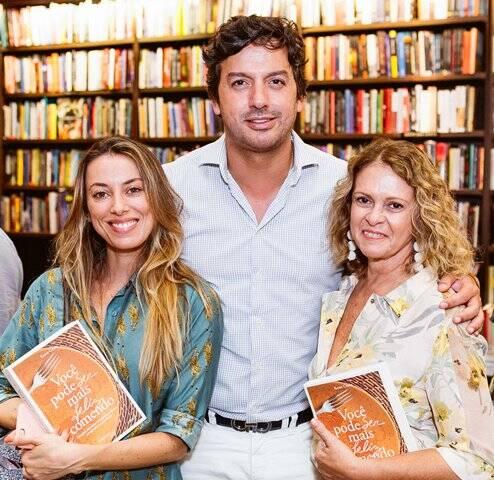 Fabíola Cabral, Ricardo Dale e Aninha Costa