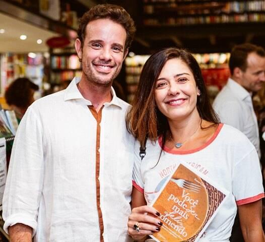 Leo Muqui e Lvia Torres