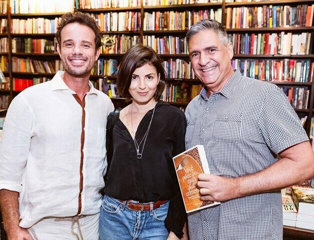 Leo Muqui, Marina Franco e Toni Oliveira