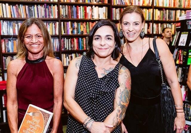 Veronika Borja, Bel Vasconcelos e Michelle Moraes